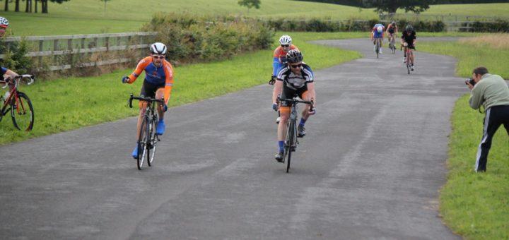 Ciaran takes the win in Corkagh.